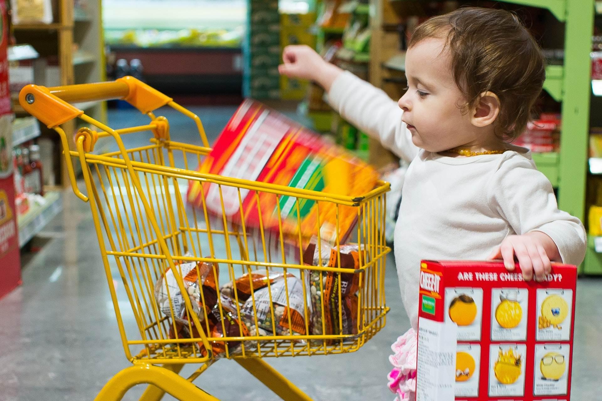 Gdy dziecko chce kupić coś, na co rodzice nie chcą się zgodzić